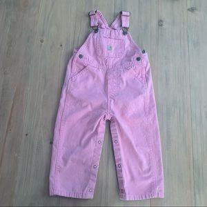 Carhartt | Pink Denim Overalls